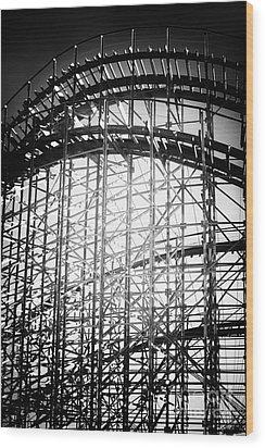 Coaster Light Wood Print by John Rizzuto
