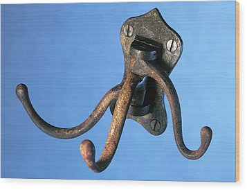 Coat Hanger From The Titanic Wood Print by Science Photo Library