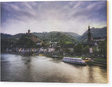 Cochem Wood Print by Ryan Wyckoff