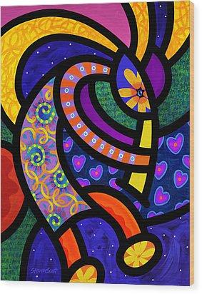 Coco Koko Pelli Wood Print