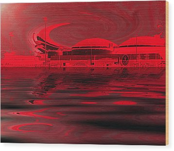 Code Red Wood Print by Wendy J St Christopher