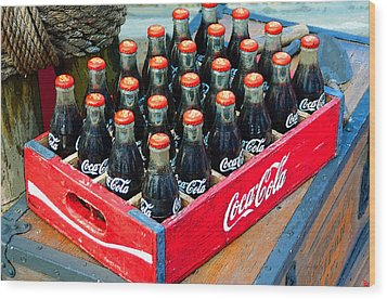 Coke Case Wood Print