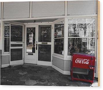 Coke Wood Print by Randy Sylvia