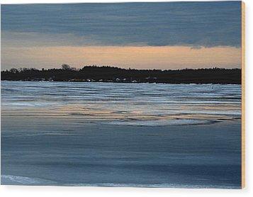 Cold Colour Wash 1 - Canada Wood Print