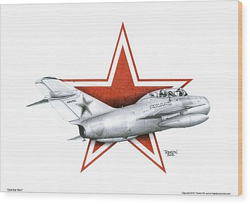 Cold War Relic Wood Print by Trenton Hill