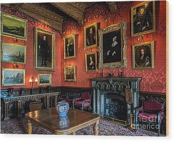 Collection Of Paintings Wood Print by Adrian Evans