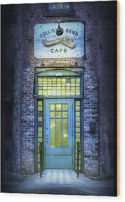 Collision Bend Cafe-cleveland Wood Print