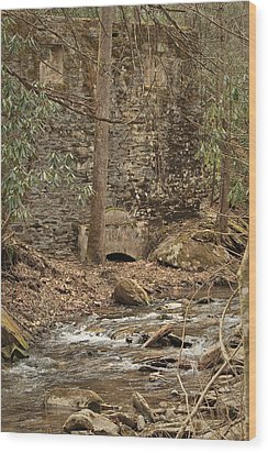 Colonel Daniel W. Adams.... Wood Print