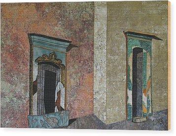 Colonial Mexico Wood Print by Lynda K Boardman