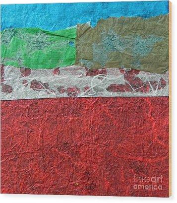 Color 1 Wood Print