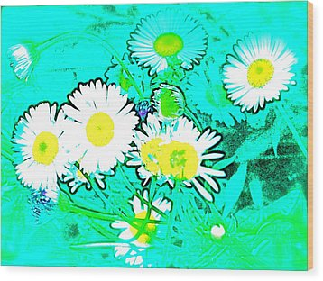 Wood Print featuring the photograph Color 7 by Pamela Cooper