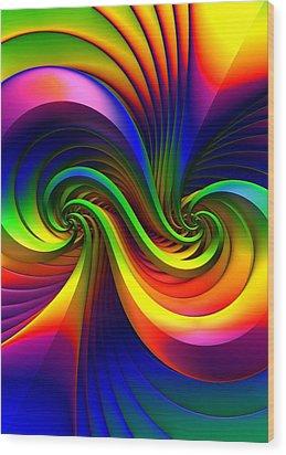 Color Circus Wood Print