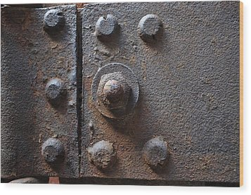 Wood Print featuring the photograph Color Of Steel 3 by Fran Riley
