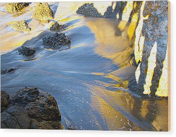 Wood Print featuring the photograph Color Surf by Jim Snyder