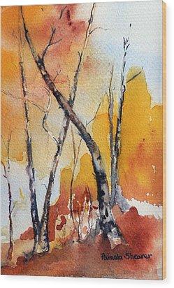 Colorado Afternoon Wood Print