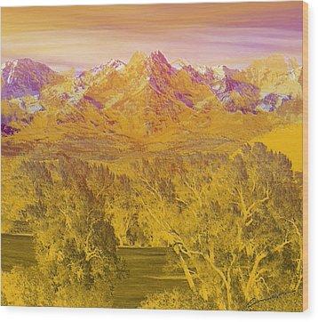 Colorado Dreaming Wood Print