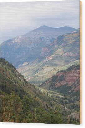 Colorado Wood Print by Kristine Bogdanovich
