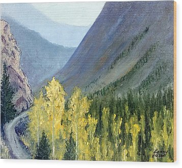 Colorado Pass Wood Print