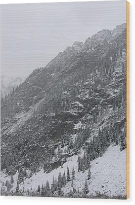 Wood Print featuring the photograph Colorado Storm by Kristine Bogdanovich