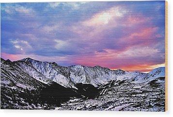 Colorful Colorado Wood Print by Matt Helm