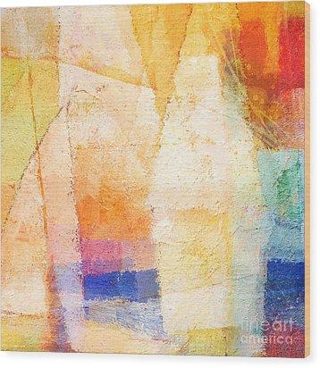 Colorful Day Wood Print by Lutz Baar
