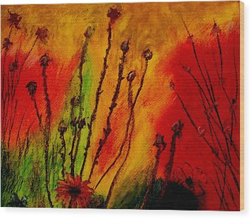 Colorful Dreams Wood Print