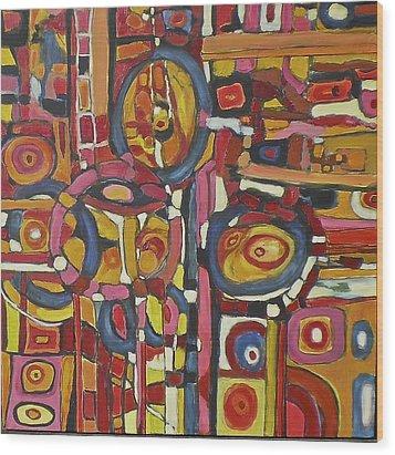 Coloroso # 11 Wood Print