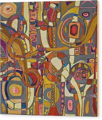 Coloroso # 16 Wood Print