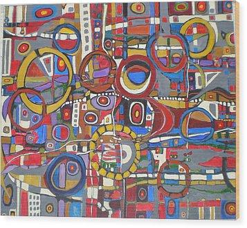 Coloroso # 18--sold Wood Print
