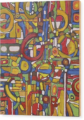 Coloroso # 5 Wood Print