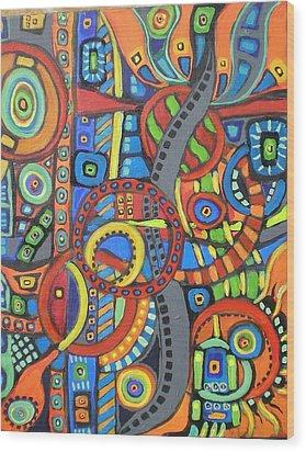 Coloroso #21 Wood Print