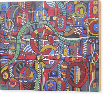 Coloroso #23--sold Wood Print
