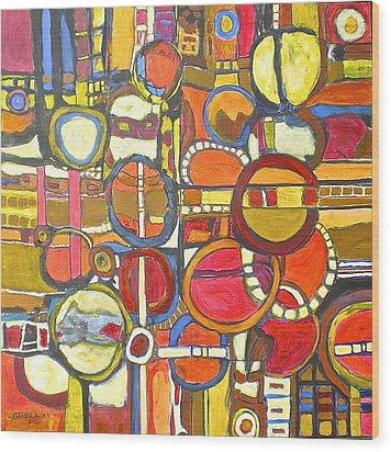 Coloroso #4 Wood Print