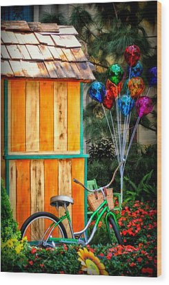 Colors Galore Wood Print by Tricia Marchlik