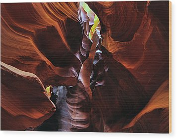 Colors Of Antelope Canyon Wood Print by Dan Myers