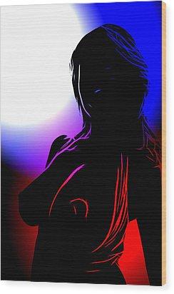 Colors Of Desire Wood Print by Steve K