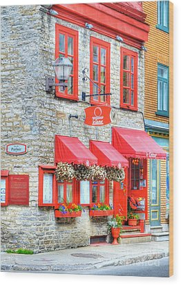 Colors Of Quebec 16 Wood Print by Mel Steinhauer