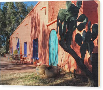 Colors Of The Desert Southwest Wood Print by Lucinda Walter