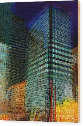 Colors Wood Print by Stuart Turnbull