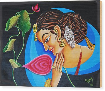Colour And Creativity Wood Print by Ragunath Venkatraman