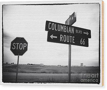 Columbian Boulevard Wood Print by John Rizzuto