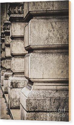 Columns Wood Print by Elena Elisseeva