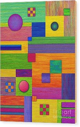 Combination Wood Print by David K Small