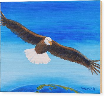 Come Fly With Me Wood Print by Gary Rowell