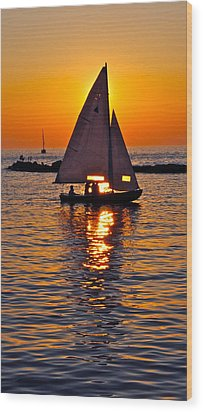 Come Sail Away With Me Wood Print by Frozen in Time Fine Art Photography