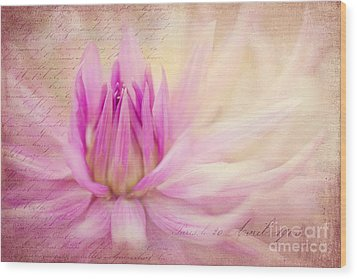 Come Spring Wood Print by Beve Brown-Clark Photography