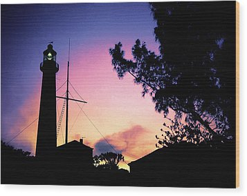 Wood Print featuring the photograph Comes The Dawn by Mike Flynn