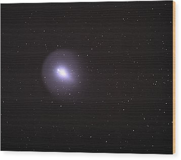 Wood Print featuring the photograph Comet 17p - Holmes by Chuck Caramella