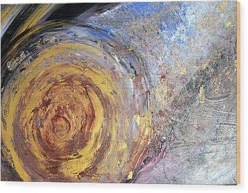 Comet Wood Print by Daniele Fedi