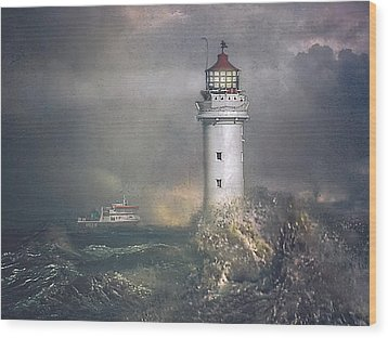 Wood Print featuring the photograph Coming Home by Brian Tarr
